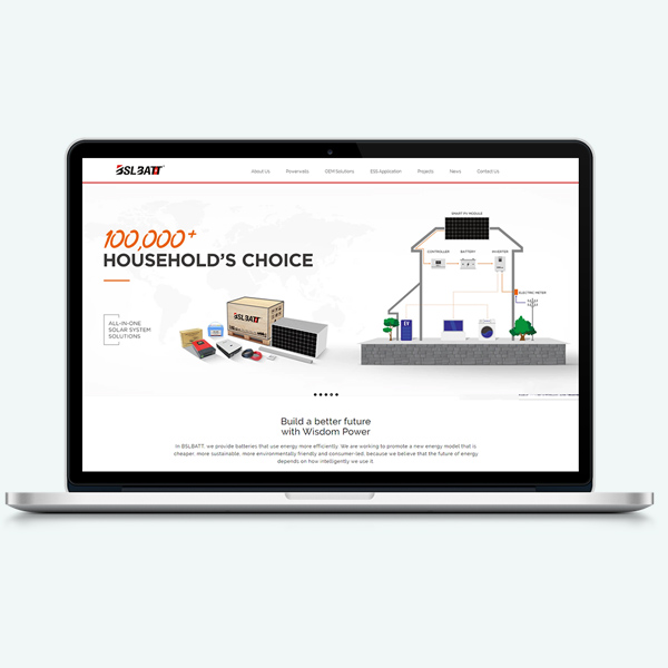 We've launched our Home battery new website and we're excited to introduce the new look to you